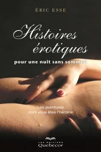 Cover Histoires erotiques pour une nuit sans sommeil