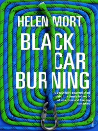 Cover Black Car Burning