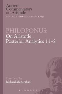 Cover Philoponus: On Aristotle Posterior Analytics 1.1-8