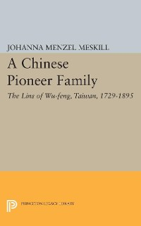 Cover A Chinese Pioneer Family