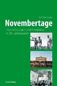 Cover Novembertage