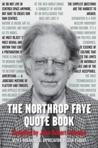 Cover Northrop Frye Quote Book