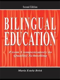 Cover Bilingual Education