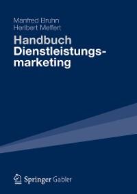 Cover Handbuch Dienstleistungsmarketing
