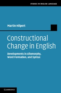 Cover Constructional Change in English
