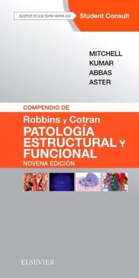 Cover Compendio de Robbins y Cotran. Patologia estructural y funcional
