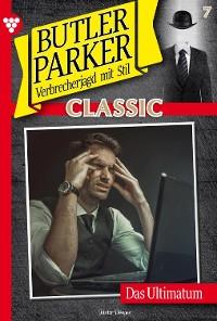 Cover Butler Parker Classic 7 – Kriminalroman