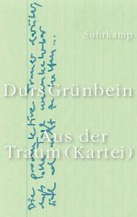 Cover Aus der Traum (Kartei)