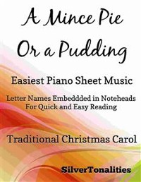Cover A Mince Pie Or a Pudding Easiest Piano Sheet Music
