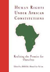 Cover Human Rights Under African Constitutions