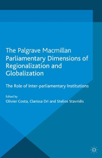 Cover Parliamentary Dimensions of Regionalization and Globalization