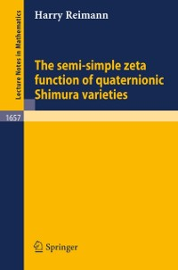Cover semi-simple zeta function of quaternionic Shimura varieties