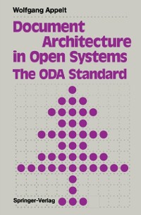 Cover Document Architecture in Open Systems: The ODA Standard