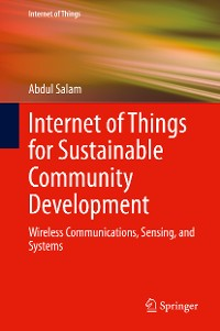 Cover Internet of Things for Sustainable Community Development
