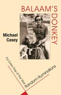 Cover Balaam's Donkey