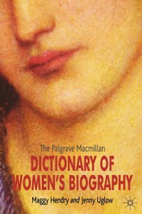 Cover The Palgrave Macmillan Dictionary of Women's Biography
