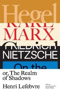 Cover Hegel, Marx, Nietzsche