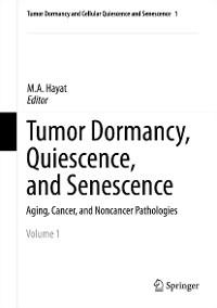 Cover Tumor Dormancy, Quiescence, and Senescence, Volume 1