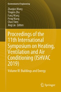 Cover Proceedings of the 11th International Symposium on Heating, Ventilation and Air Conditioning (ISHVAC 2019)