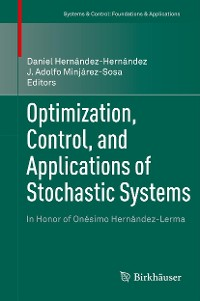 Cover Optimization, Control, and Applications of Stochastic Systems