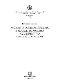 Cover Nozione di controinteressato e modelli di processo amministrativo