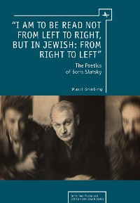 "Cover ""I am to be read not from left to right, but in Jewish: from right to left"""