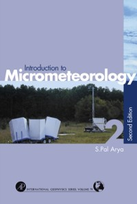 Cover Introduction to Micrometeorology