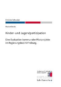 Cover Kinder- und Jugendpartizipation