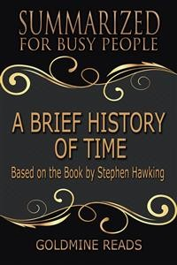Cover A Brief History of Time - Summarized for Busy People