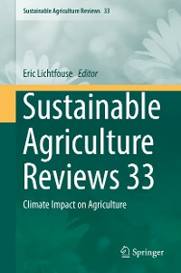 Cover Sustainable Agriculture Reviews 33