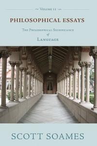 Cover Philosophical Essays, Volume 2
