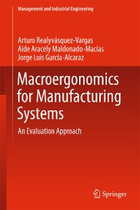 Cover Macroergonomics for Manufacturing Systems