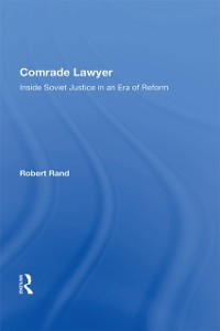 Cover Comrade Lawyer