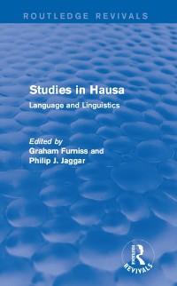 Cover Studies in Hausa