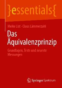 Cover Das Äquivalenzprinzip