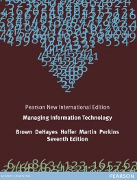 Cover Managing Information Technology: Pearson New International Edition