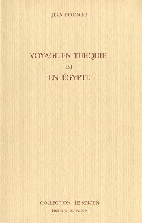 Cover Voyage en Turquie et en Egypte