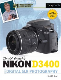 Cover David Busch's Nikon D3400 Guide to Digital SLR Photography