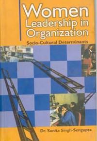 Cover Women Leadership In Organizations Socio-Cultural Determinants