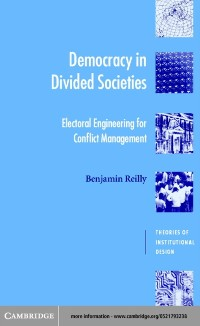 Cover Democracy in Divided Societies