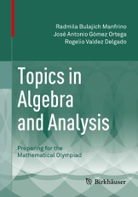 Cover Topics in Algebra and Analysis