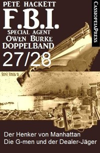 Cover FBI Special Agent Owen Burke Folge 27/28 - Doppelband