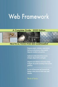 Cover Web Framework A Complete Guide - 2020 Edition