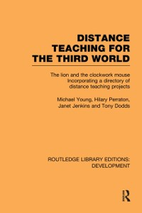 Cover Distance Teaching for the Third World