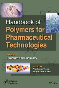 Cover Handbook of Polymers for Pharmaceutical Technologies, Volume 1, Structure and Chemistry