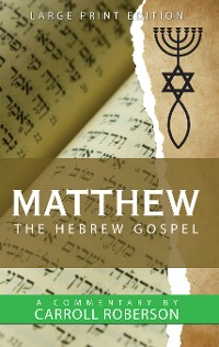 Cover Matthew the Hebrew Gospel
