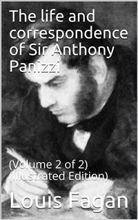 Cover The life and correspondence of Sir Anthony Panizzi, Volume 2 (of 2)
