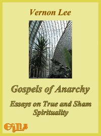 Cover Gospels of Anarchy, and Other Contemporary Studies