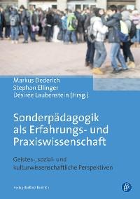 Cover Sonderpädagogik als Erfahrungs- und Praxiswissenschaft
