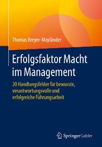 Cover Erfolgsfaktor Macht im Management